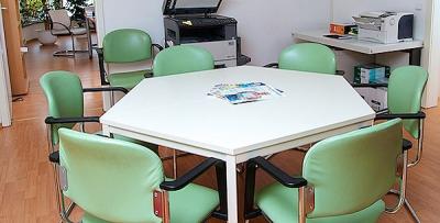 Büro in Eisenach - Besprechungstisch